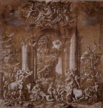 Balḍsāri Ṗrŭtsi, Đ AḌRÊŠN V Đ MÊJÎ, c. 1523