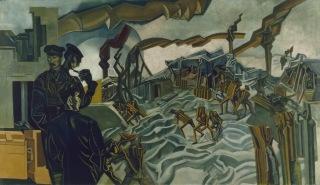 Prsi Windm Luis, A BAṬRI ŠELD, 1919