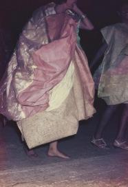 P07 ṖRANĠLÊCÊP 04 'CLĀC' │ 1964-65 │ Pênt, canvs, brlap, vinilplastc │ 1310 x 985 x 60 mm