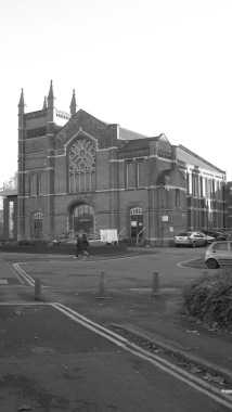Queens Road Baptist Church. Grade II listed │ 2013