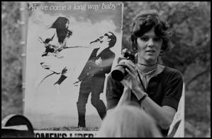 Leonard Freed, Women's Liberation March at City Hall, NYC, 1970 © Leonard Freed / Magnum Photos