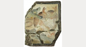 Fishes, end of 1st to beginning of 2nd century AD. Courtesy Estorick Collection of Modern Italian Art