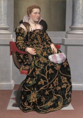 Isotta Brembati, c1555. Photograph: Lucretia Moroni Collection, Bergamo