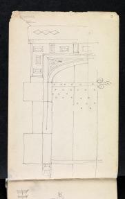 Doorway, The Manor, Stanway Road, Stanton, Gloucestershire 1894