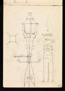 Lamp standard, Halesworth, Suffolk 31 August 1897