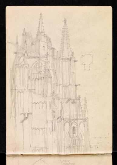Exterior of choir, York Minster