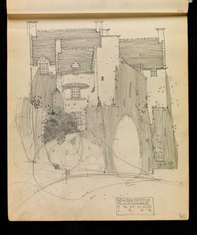 Newton Castle, Blairgowrie, Perthshire 1909