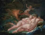 François Boucher: Pan and Syrinx, 1759