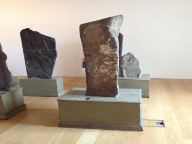 The Ogham Stones, 4th - 7th century AD, National Museum of Ireland - Archeology