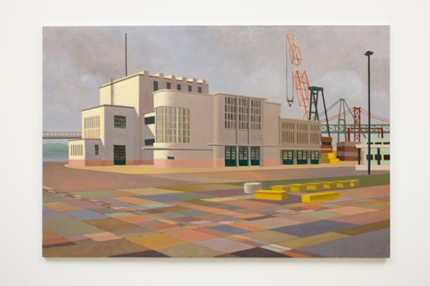 Custom House Lisbon, 2008. Oil on canvas. Private collection, Ireland. Image courtesy Denis Mortell.