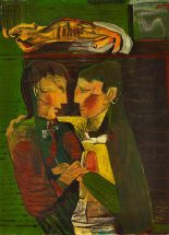 Robert Colquhoun: Actors on a Stage, 1945 | Private Collection