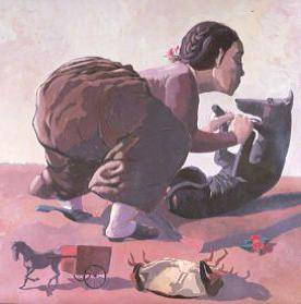 PAULA REGO Snare, 1987, 150 x 150 cm, British Council