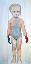 The Painter, 1994. Photograph: The Museum of Modern Art, New York © Marlene Dumas
