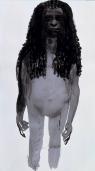 Magdalena 1 1996 Ink on paper image: 1250 x 700 mm