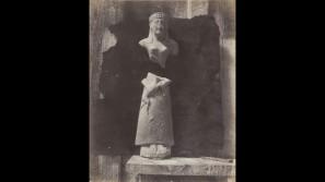 Auguste Salzmann: 'Statuette en Calcaire; Type Chypriot' (1858-65) ©Wilson Centre for Photography