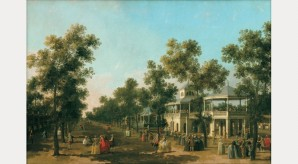 The Grand Walk Vauxhall Gardens, c.1751. © CV, photo by Prudence Cuming Associates Ltd
