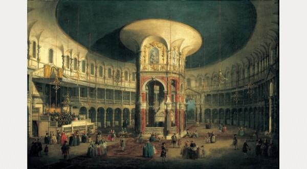 The Interior of the Rotunda, Ranelagh, 1754. © CV, photo by Prudence Cuming Associates Ltd