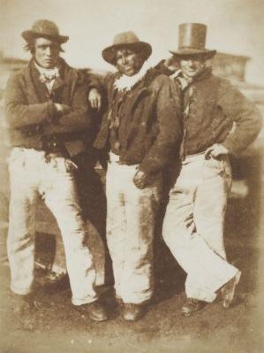 D. O. Hill and Robert Adamson, Newhaven fishermen, circa 1845 © Wilson Centre for Photography