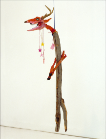 Jimmie Durham, A Dead Deer, 1986. Courtesy collection M HKA.