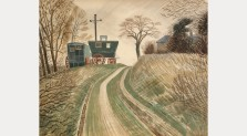 Caravans, 1936. The Fry Art Gallery
