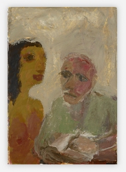 Sequence No.67, Unlikely Angel, c.1990, acrylic on paper, 56 x 38 cm