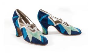 Court shoes, 1925. Photograph: Les Arts Décoratifs, Musée de la Mode et du Textile, Paris
