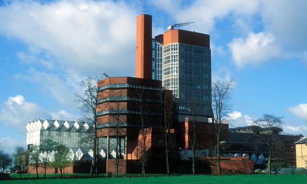 """Structural feats and forceful geometries. Stirling and Gowan's Engineering Building represented a shift from the functionalist doctrines of the postwar period."" Photograph: Alamy"