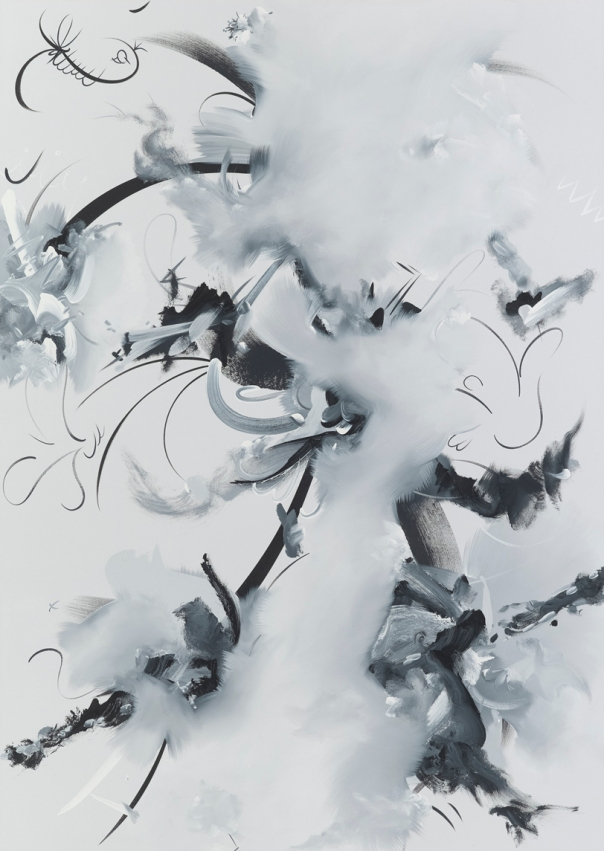Figure 1o. Oil and acrylic on canvas, 2015 72 x 51 in / 183 x 129.5 cm