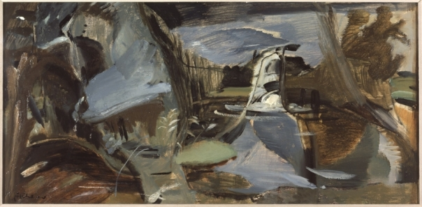 B7407 Ivon Hitchens Terwick Mill, No. 7, Splashing Fall' © the estate of Ivon Hitchens