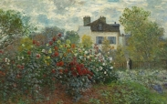 The Artist's Garden (detail), Monet, 1873 (Picture: Board of Trustees, National Gallery of Art, Washington DC)