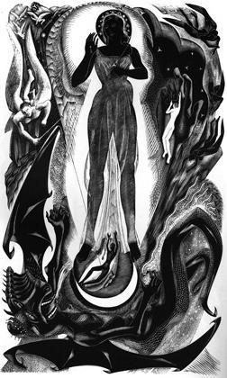 Simon Hughes-Stanton: from The Revelation of St John the Divine, 1933