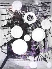 Sigmar Polke, Untitled, 2003. Gouache on paper. Courtesy Zabludowicz Collection, and Galleri Bo Bjerggaard, Copenhagen