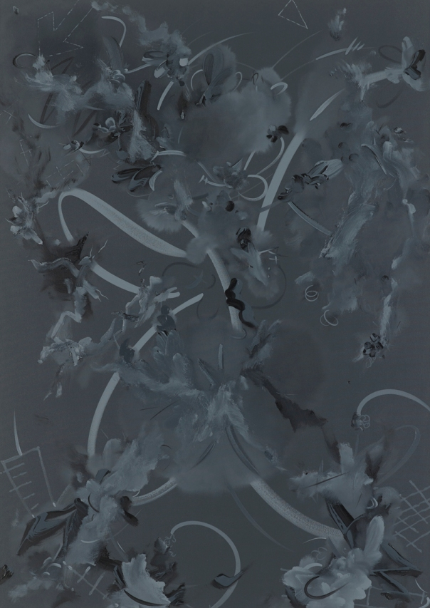 Figure 1k. Oil and acrylic on canvas, 2014 72 x 51 in / 183 x 129.5 cm