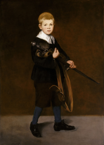 Edouard Manet's Boy with a Sword, 1861. Photograph: Alamy