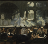 The Ballet Scene from Meyerbeer's Opera Robert le Diable, 1876 by Degas. Photograph: © Victoria and Albert Museum, London