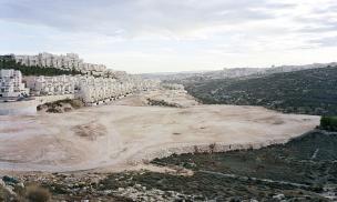 Detail from Har Homa, east Jerusalem, 2009