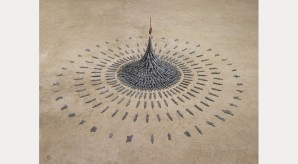 Cornelia Parker, Fleeting Monument, 1985