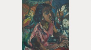 Miss Rhoda Samuels, 1958. Oil on canvas, 76 x 71 cm. University of Salford
