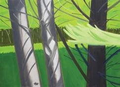 Alex Katz: White Pines 2, 2005