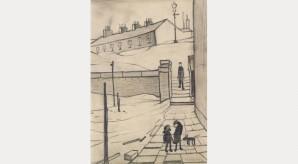 Lawrence Stephen Lowry: Street in Ramsbottom, 1954