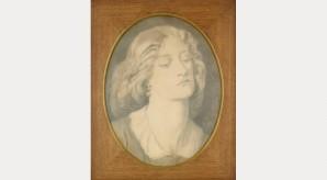 Dante Gabriel Rossetti: Louisa Ruth Herbert, 1858
