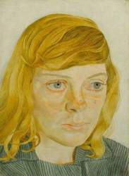 Lucian Freud: Girl in a Green Dress, 1954