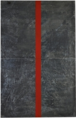 Untitled, 1990. Acrylic on lead laid down on panel, 86 5/8 x 55 1/8 in. (220 x 140 cm)