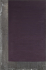 Untitled1986. Acrylic on lead laid down on panel, 70 7/8 x 47 1/4 in. (180 x 120 cm)