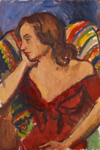 Matthew Arnold Bracy Smith: Angelica Garnett (nee Bell), 1957