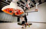 Flying Mushrooms. Photo: Linda Nylind/Observer