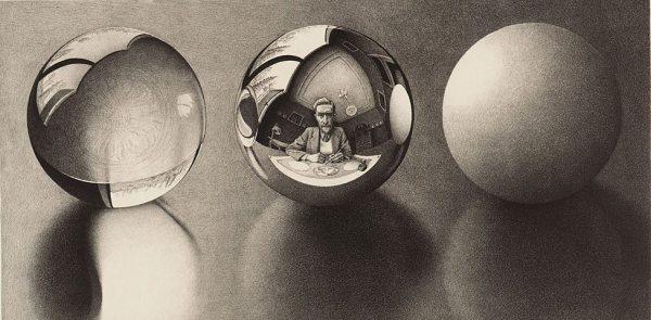 Three Spheres II, 1946