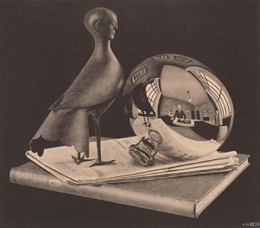 Still Life With Spherical Mirror, 1934