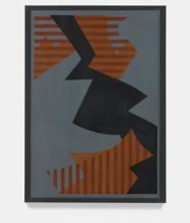 Jose Angel Rosabal: Sin Título (Untitled), 1960.Oil on masonite,39 3/4 x 28 1/8 x 1 inches (101 x 71.5 x 2.5 cm)