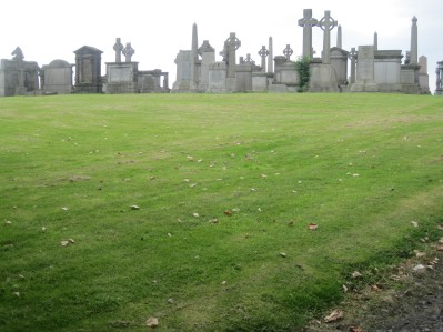 THE ARMY OF THE DEAD, Necropolis, Glasgow, September 2015